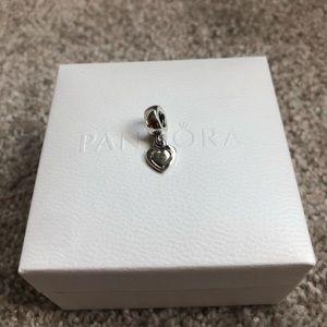 Retired Authentic Pandora Heart Charm